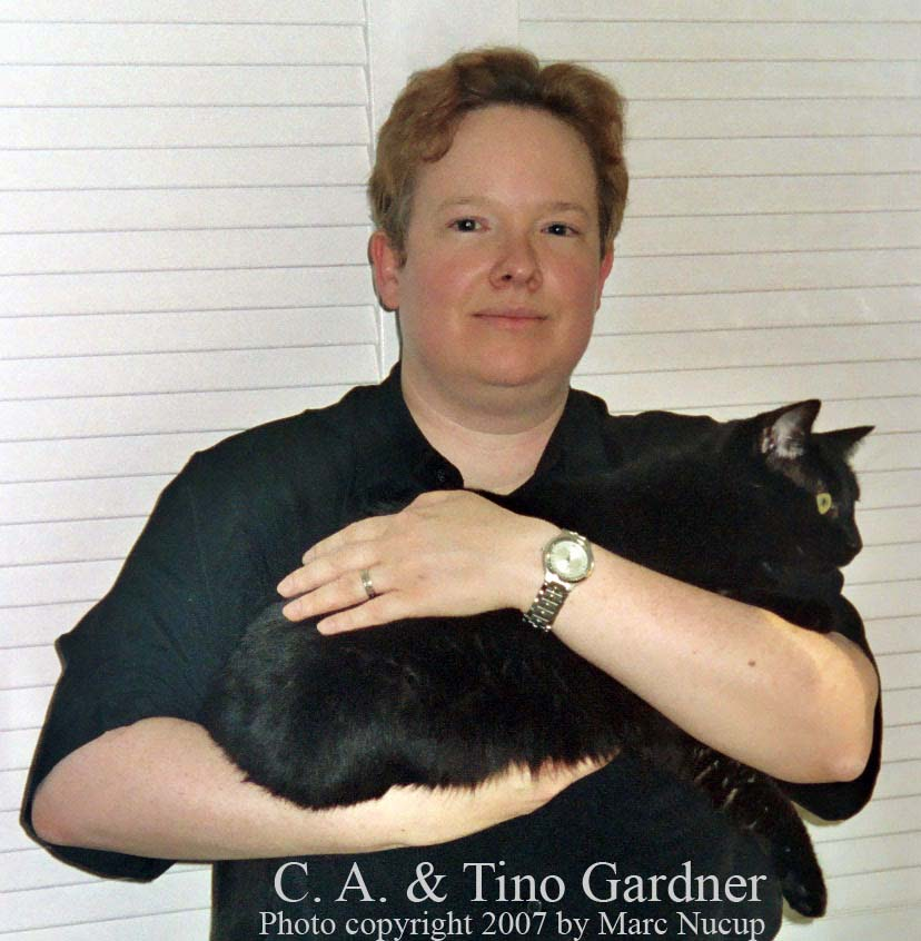 C. A. & Tino Gardner, photo copyright 2007 by Marc Nucup